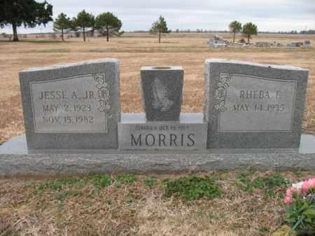 MORRIS, JR., JESSE A - Cross County, Arkansas   JESSE A MORRIS, JR. - Arkansas Gravestone Photos