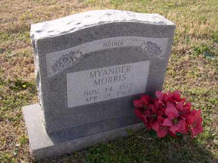 MORRIS, MYANDER - Cross County, Arkansas   MYANDER MORRIS - Arkansas Gravestone Photos