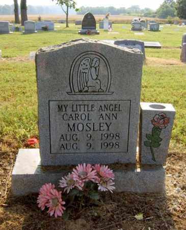 MOSLEY, CAROL ANN - Cross County, Arkansas   CAROL ANN MOSLEY - Arkansas Gravestone Photos
