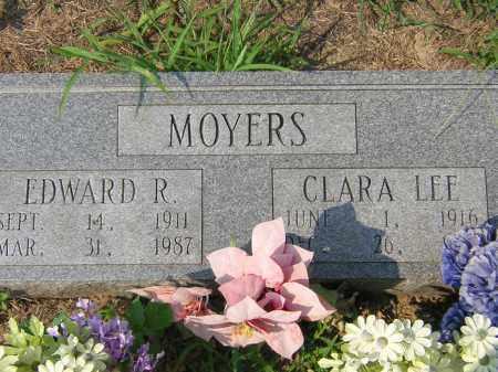 RUSSELL MOYERS, CLARA LEE - Cross County, Arkansas | CLARA LEE RUSSELL MOYERS - Arkansas Gravestone Photos