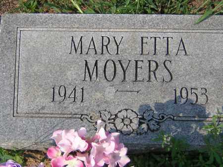 MOYERS, MARY ETTA - Cross County, Arkansas | MARY ETTA MOYERS - Arkansas Gravestone Photos