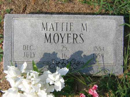 MOYERS, MATTIE MARTHA - Cross County, Arkansas | MATTIE MARTHA MOYERS - Arkansas Gravestone Photos