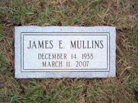 MULLINS, JAMES E - Cross County, Arkansas | JAMES E MULLINS - Arkansas Gravestone Photos