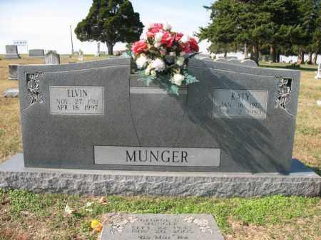 MUNGER, ELVIN - Cross County, Arkansas   ELVIN MUNGER - Arkansas Gravestone Photos