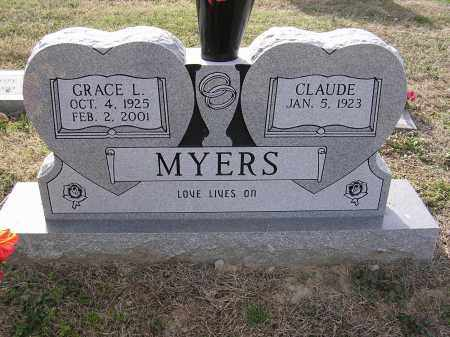 MYERS, GRACE L - Cross County, Arkansas | GRACE L MYERS - Arkansas Gravestone Photos