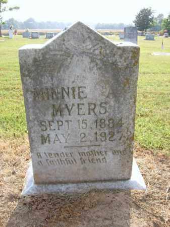 MYERS, MINNIE - Cross County, Arkansas   MINNIE MYERS - Arkansas Gravestone Photos