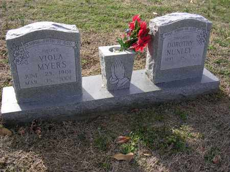 MYERS, VIOLA - Cross County, Arkansas | VIOLA MYERS - Arkansas Gravestone Photos