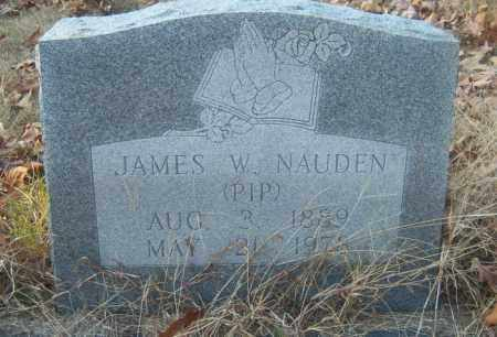 "NAUDEN, JAMES W ""PIP"" - Cross County, Arkansas 