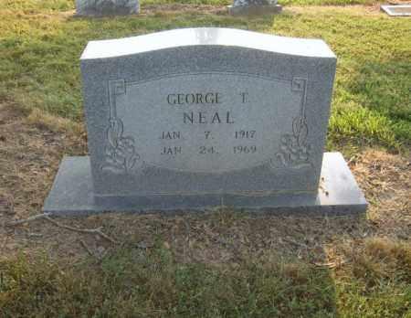 NEAL, GEORGE T - Cross County, Arkansas | GEORGE T NEAL - Arkansas Gravestone Photos