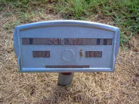 NEAL, OCIE - Cross County, Arkansas | OCIE NEAL - Arkansas Gravestone Photos