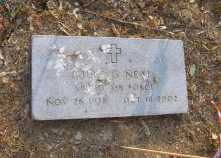 NEAL (VETERAN), BILLY G - Cross County, Arkansas   BILLY G NEAL (VETERAN) - Arkansas Gravestone Photos