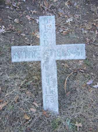 NELSON, ANNIE - Cross County, Arkansas   ANNIE NELSON - Arkansas Gravestone Photos