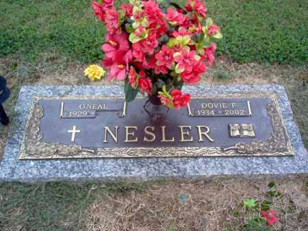 NESLER, DOVIE F - Cross County, Arkansas | DOVIE F NESLER - Arkansas Gravestone Photos