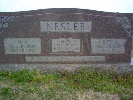 NESLER, O A - Cross County, Arkansas | O A NESLER - Arkansas Gravestone Photos
