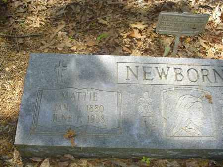 NEWBORNE, MATTIE - Cross County, Arkansas | MATTIE NEWBORNE - Arkansas Gravestone Photos