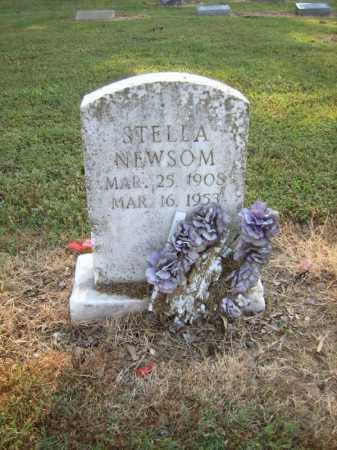 NEWSOM, STELLA - Cross County, Arkansas | STELLA NEWSOM - Arkansas Gravestone Photos