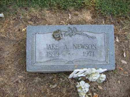 NEWSON, JAKE A - Cross County, Arkansas | JAKE A NEWSON - Arkansas Gravestone Photos