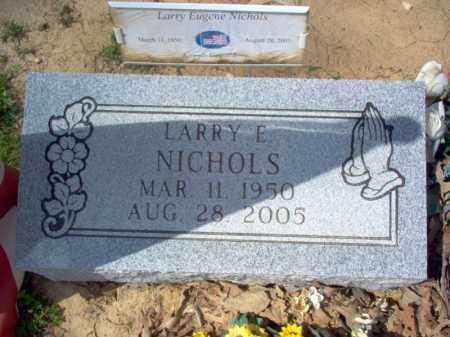 NICHOLS, LARRY EUGENE - Cross County, Arkansas | LARRY EUGENE NICHOLS - Arkansas Gravestone Photos
