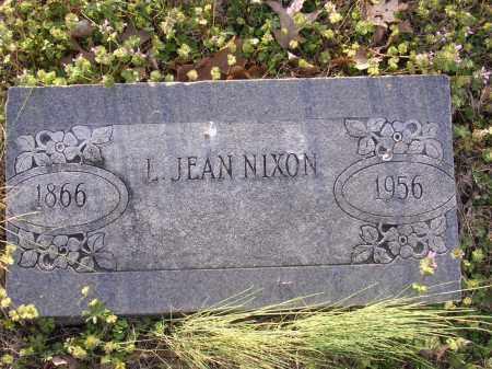 NIXON, L JEAN - Cross County, Arkansas | L JEAN NIXON - Arkansas Gravestone Photos