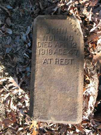 NOLAND, JOHN - Cross County, Arkansas | JOHN NOLAND - Arkansas Gravestone Photos
