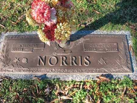 NORRIS, CLAUDE C - Cross County, Arkansas | CLAUDE C NORRIS - Arkansas Gravestone Photos