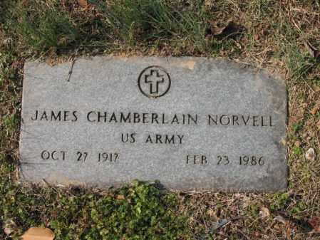 NORVELL, SR (VETERAN), JAMES CHAMBERLAIN - Cross County, Arkansas   JAMES CHAMBERLAIN NORVELL, SR (VETERAN) - Arkansas Gravestone Photos