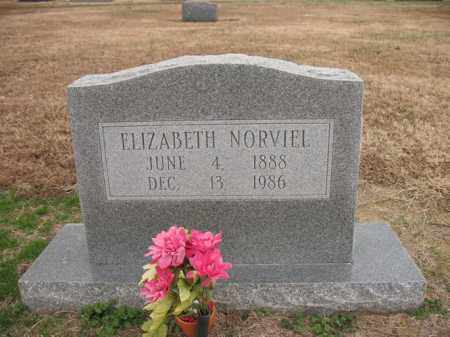 NORVIEL, ELIZABETH - Cross County, Arkansas | ELIZABETH NORVIEL - Arkansas Gravestone Photos