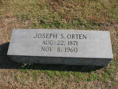 ORTEN, JOSEPH S - Cross County, Arkansas | JOSEPH S ORTEN - Arkansas Gravestone Photos