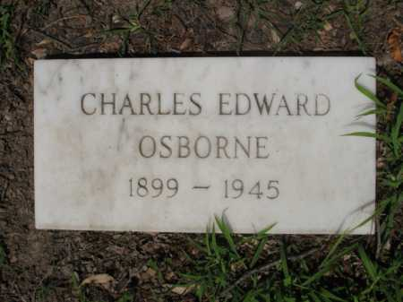 OSBORNE, CHARLES EDWARD - Cross County, Arkansas | CHARLES EDWARD OSBORNE - Arkansas Gravestone Photos