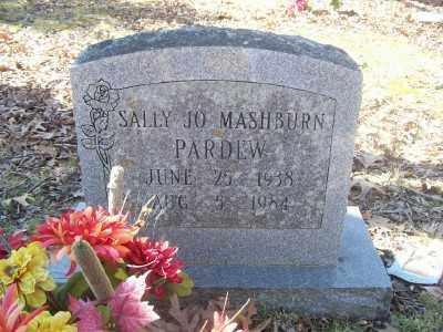 PARDEW, SALLY JO - Cross County, Arkansas | SALLY JO PARDEW - Arkansas Gravestone Photos