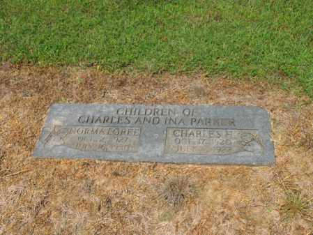 PARKER, CHARLES H - Cross County, Arkansas | CHARLES H PARKER - Arkansas Gravestone Photos