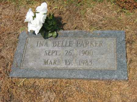 PARKER, INA BELLE - Cross County, Arkansas | INA BELLE PARKER - Arkansas Gravestone Photos