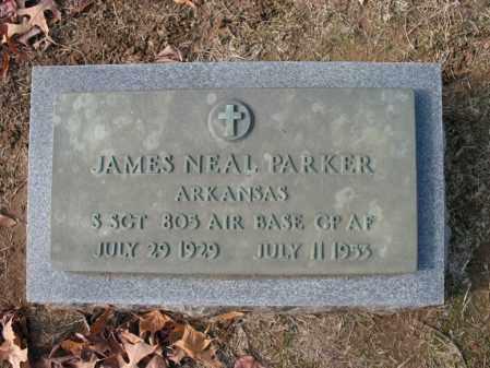 PARKER (VETERAN), JAMES NEAL - Cross County, Arkansas | JAMES NEAL PARKER (VETERAN) - Arkansas Gravestone Photos