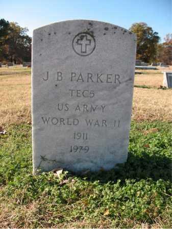 PARKER (VETERAN WWII), J B - Cross County, Arkansas | J B PARKER (VETERAN WWII) - Arkansas Gravestone Photos