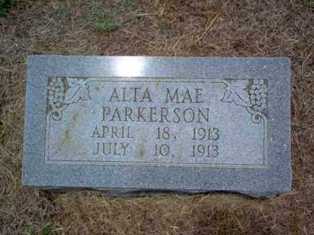 PARKERSON, ALTA MAE - Cross County, Arkansas   ALTA MAE PARKERSON - Arkansas Gravestone Photos