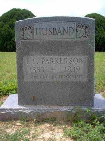PARKERSON, F L - Cross County, Arkansas | F L PARKERSON - Arkansas Gravestone Photos