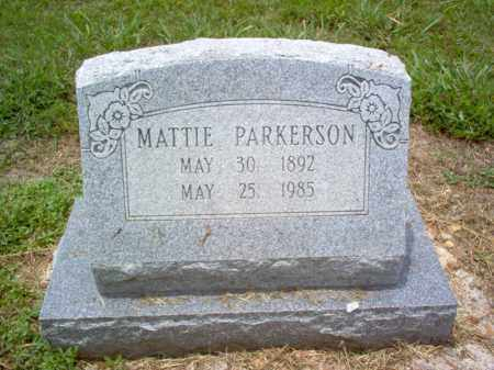 PARKERSON, MATTIE - Cross County, Arkansas | MATTIE PARKERSON - Arkansas Gravestone Photos