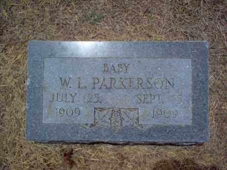 PARKERSON, W L - Cross County, Arkansas | W L PARKERSON - Arkansas Gravestone Photos