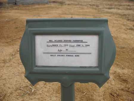 PARMENTER, MILDRED - Cross County, Arkansas | MILDRED PARMENTER - Arkansas Gravestone Photos