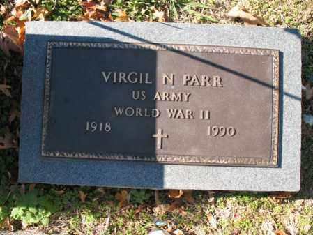 PARR (VETERAN WWII), VIRGIL N - Cross County, Arkansas | VIRGIL N PARR (VETERAN WWII) - Arkansas Gravestone Photos