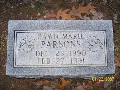 PARSONS, DAWN MARIE - Cross County, Arkansas | DAWN MARIE PARSONS - Arkansas Gravestone Photos