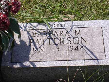PATTERSON, BARBARA M - Cross County, Arkansas | BARBARA M PATTERSON - Arkansas Gravestone Photos