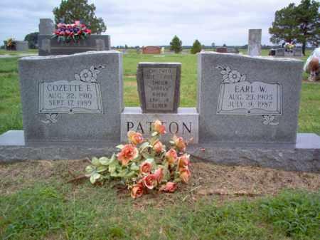 PATTON, COZETTE E - Cross County, Arkansas | COZETTE E PATTON - Arkansas Gravestone Photos