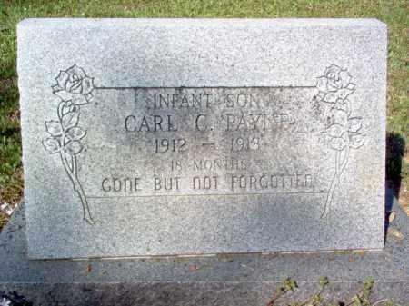 PAYNE, CARL C - Cross County, Arkansas | CARL C PAYNE - Arkansas Gravestone Photos