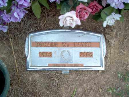 PAYNE, DONALD WAYNE - Cross County, Arkansas | DONALD WAYNE PAYNE - Arkansas Gravestone Photos