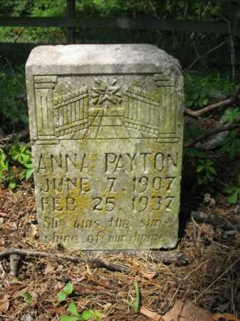 PAYTON, ANNA - Cross County, Arkansas | ANNA PAYTON - Arkansas Gravestone Photos