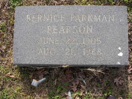 PARKMAN PEARSON, BERNICE - Cross County, Arkansas | BERNICE PARKMAN PEARSON - Arkansas Gravestone Photos