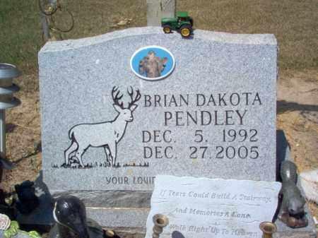 PENDLEY, BRIAN DAKOTA - Cross County, Arkansas | BRIAN DAKOTA PENDLEY - Arkansas Gravestone Photos