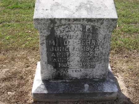 PERRY, FANNIE - Cross County, Arkansas | FANNIE PERRY - Arkansas Gravestone Photos