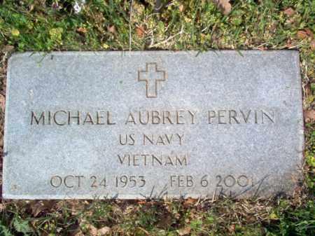 PERVIN (VETERAN VIET), MICHAEL AUBREY - Cross County, Arkansas | MICHAEL AUBREY PERVIN (VETERAN VIET) - Arkansas Gravestone Photos